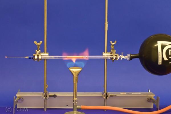 BOX - Reduktion mit Wasserstoff (8mm Rohr)