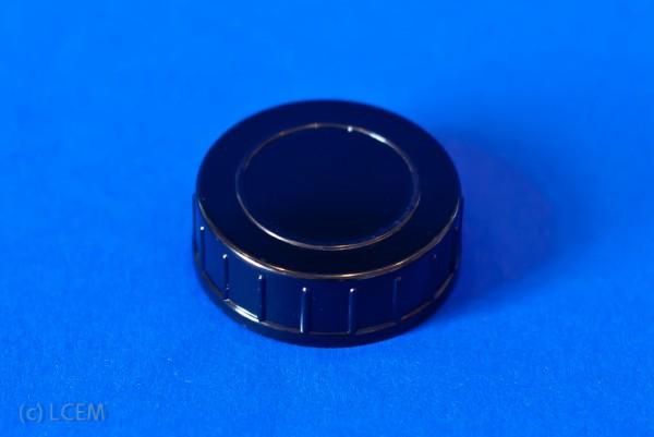 Schraubkappe GL40 - schwarz